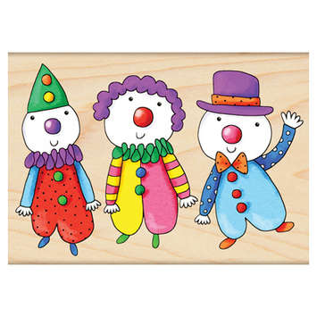 three clowns picture