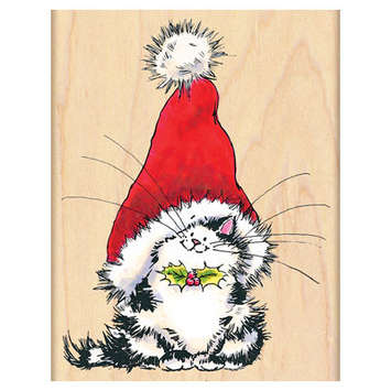 jolly xmas kitty picture