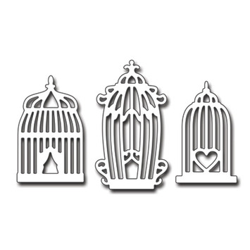 vintage birdcages picture