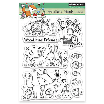 woodland friends picture
