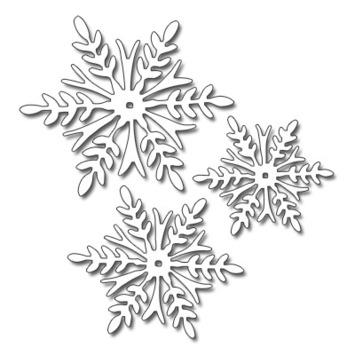 snowflake trio picture