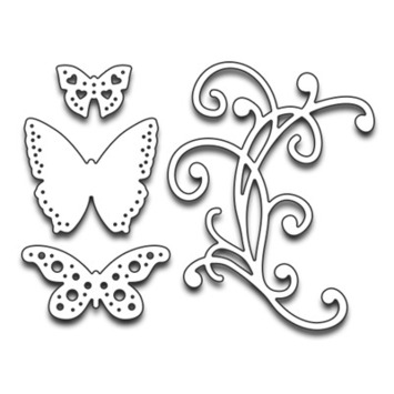 flourish & butterflies picture