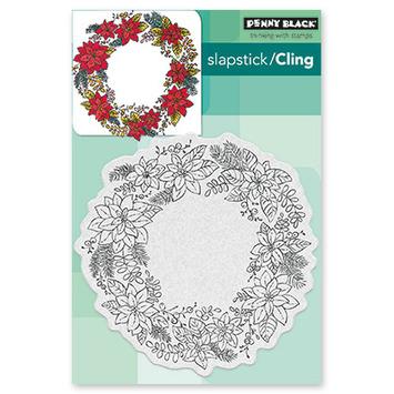 poinsettia wreath picture