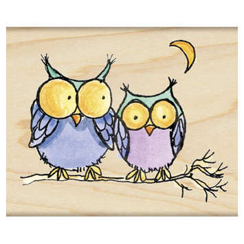 moonlight owls picture