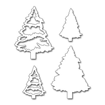 evergreen tree picture