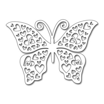 Hearts Butterfly picture