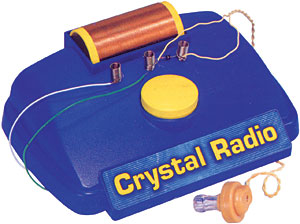 Electronic Crystal Radio Kit picture