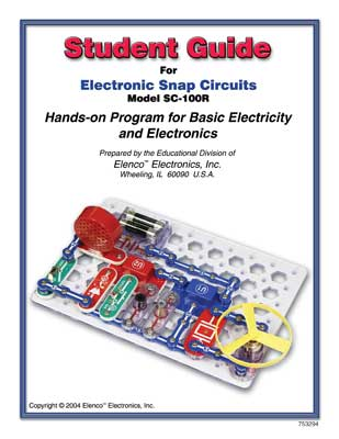 Snap Circuits Student Guide for SC-100R picture