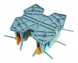 Six Leg Walking Type Gearbox Kit picture