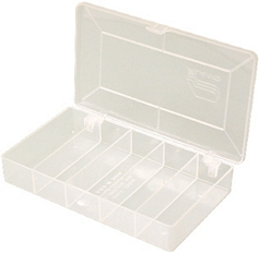 Parts Box 5 Fixed Compartments picture