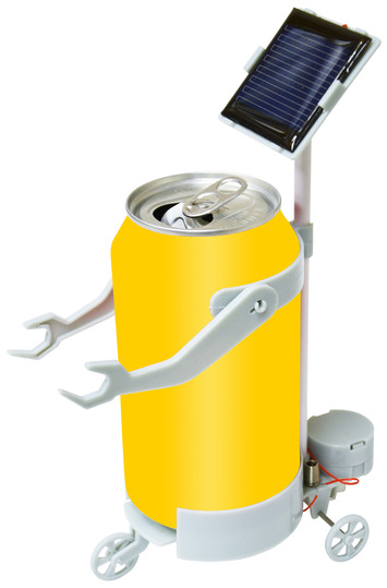Solar Can Motor Robot picture