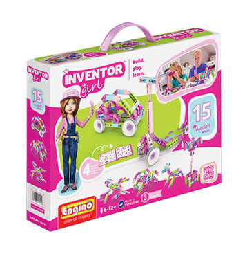 Engino® - Inventor Girl 15 models picture