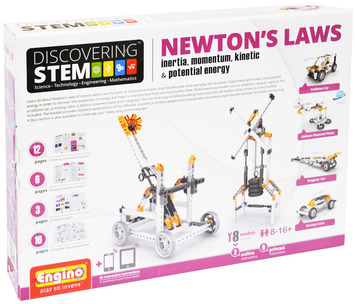 Engino ® - STEM NEWTON'S LAWS: Inertia, Energy picture