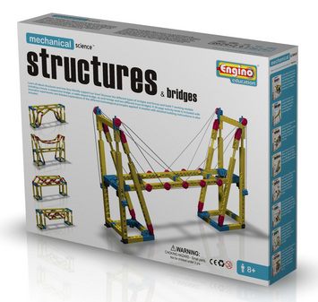 Engino Structures and bridges picture