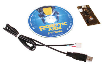 USB Interface for Robotic arm picture