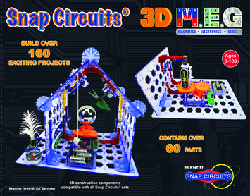 Snap Circuits® 3D M.E.G. picture