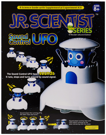 Jr Scientist -  the sound control UFO picture