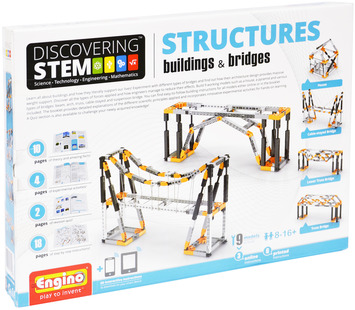 Engino ® - STEM STRUCTURES:Buildings & Bridges picture