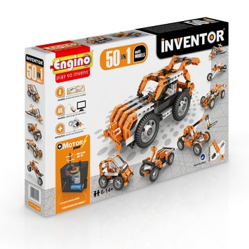 Engino ® - INVENTOR 50 MODELS MOTORIZED SET picture