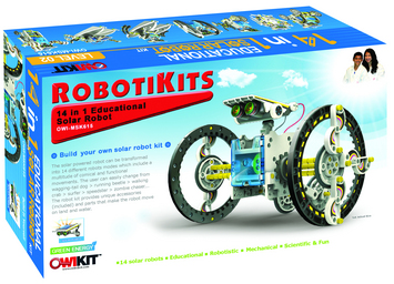 14 - in - 1 Solar Robot picture
