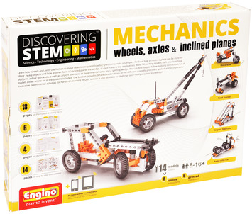 STEM Mechanics Wheels, Axles & Inclined Planes picture