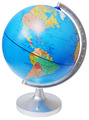 "11"" Dual Cartograph Illuminated Globe"