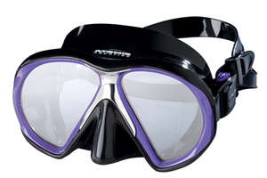 Mask, Subframe Mid Size  (Black with Purple) picture
