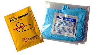 CPR Laerdal Faceshield picture