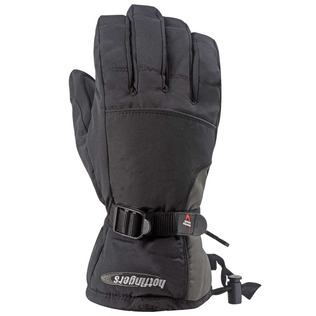 Hot Fingers Mens Rip-N-Go Glove Black,Medium