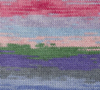 Liberty Wool Prints, Watercolor Rainbow picture