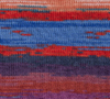 Liberty Wool Prints, Red Hot Blues