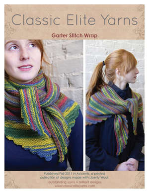 Garter Stitch Wrap picture