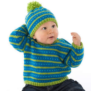 Fair Isle Sweater & Hat picture