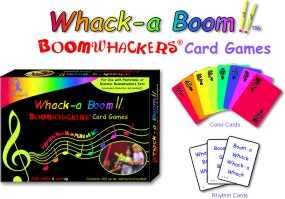 Whack-a Boom!!™ Boomwhackers® Card Games picture