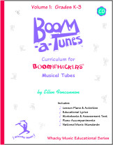 Boom-a-Tunes™ Curriculum, Volume 1  w/CD picture