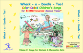 Whack-a-Doodle Too! Songbook picture