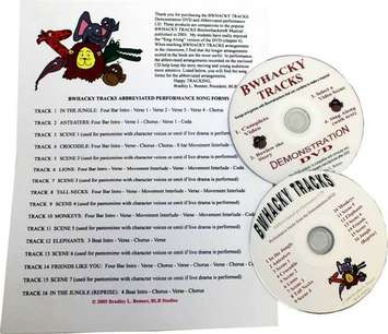 Bwhacky Tracks w/CD picture