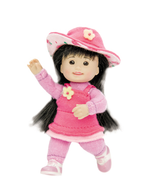 Li'l Kids Outfit - Pink Sun Dress, Hat, Shirt and Shorts picture