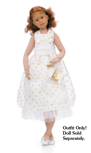 "<font color=""#ff00cc""><b>NEW!</b></font> White Princess Party Dress Outfit picture"