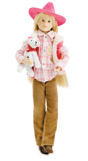 "<font color=""FF00CC""><b>NEW!</b></font>  HPC - Karina Grace™ Doll in Western Outfit picture"