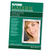 """Ilford Galerie - Smooth Gloss 290 gsm 17x22"""", 50 sheets"""