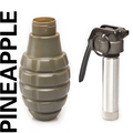 Grenade - Valken Tactical Thunder B 12 pk w/core -Pineapple