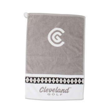 Women's Argyle Towel White