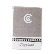 Women's Argyle Towel White