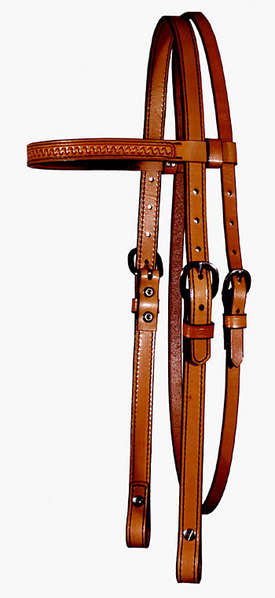 5/8&quot; Headstall - Browband - &quot;S&quot; Tool picture