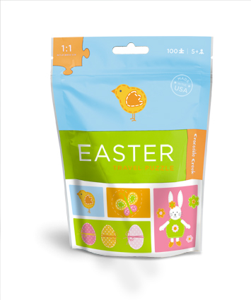 Easter Chick Travel Pouch Puzzle picture