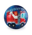 """4"""" Fire Truck Playball"""