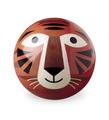 "4"" Tiger Playball"