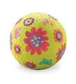 """5"""" Flower Garden Green Playball"""
