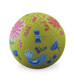 "5"" Garden Colors Playball"